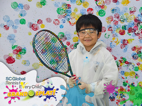 The Tennis For Every Child Grandsplat Carnival